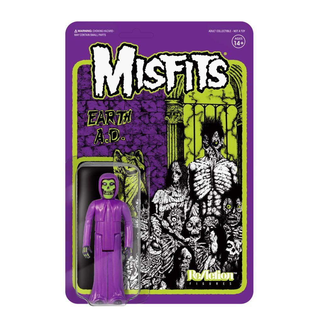 Super7 ReAction Figure - Misfits - The Fiend - Earth A.D.