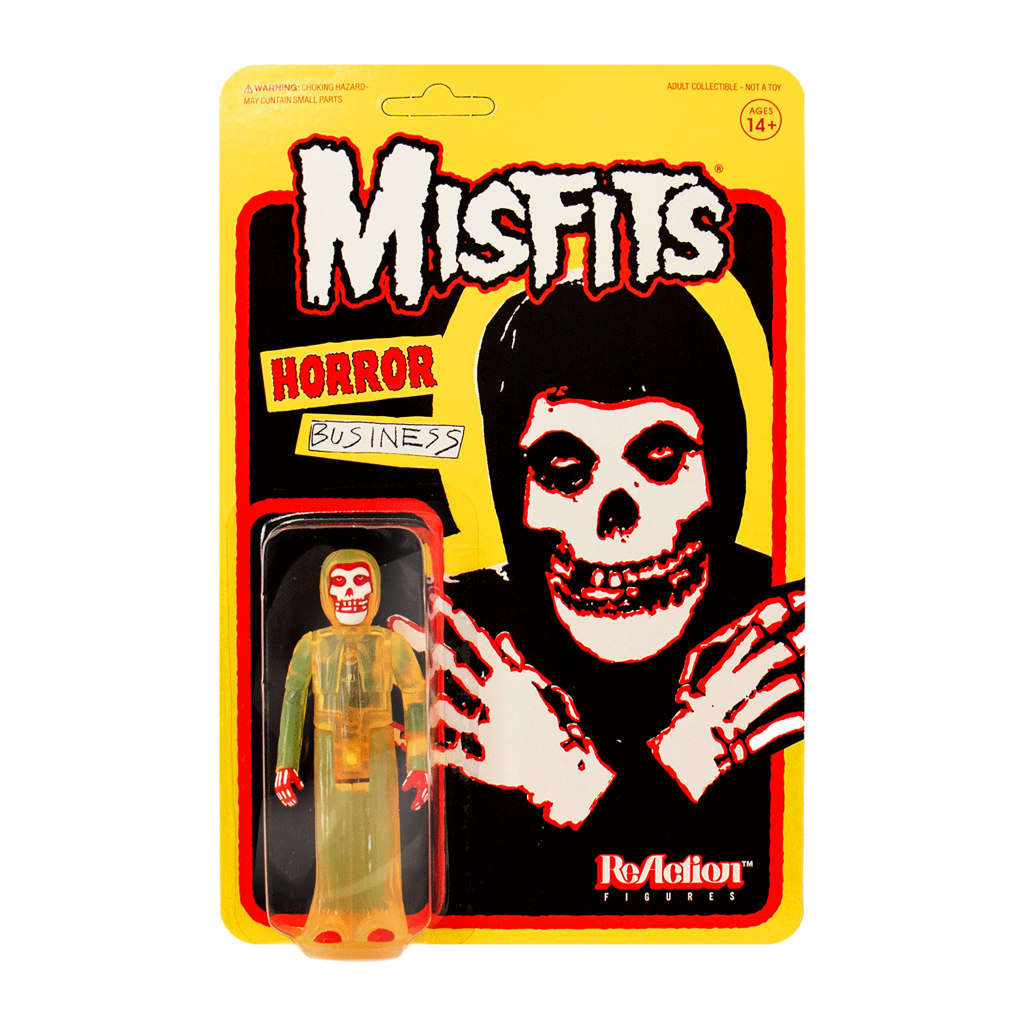 Super7 ReAction Figure - Misfits - The Fiend - Horror Business