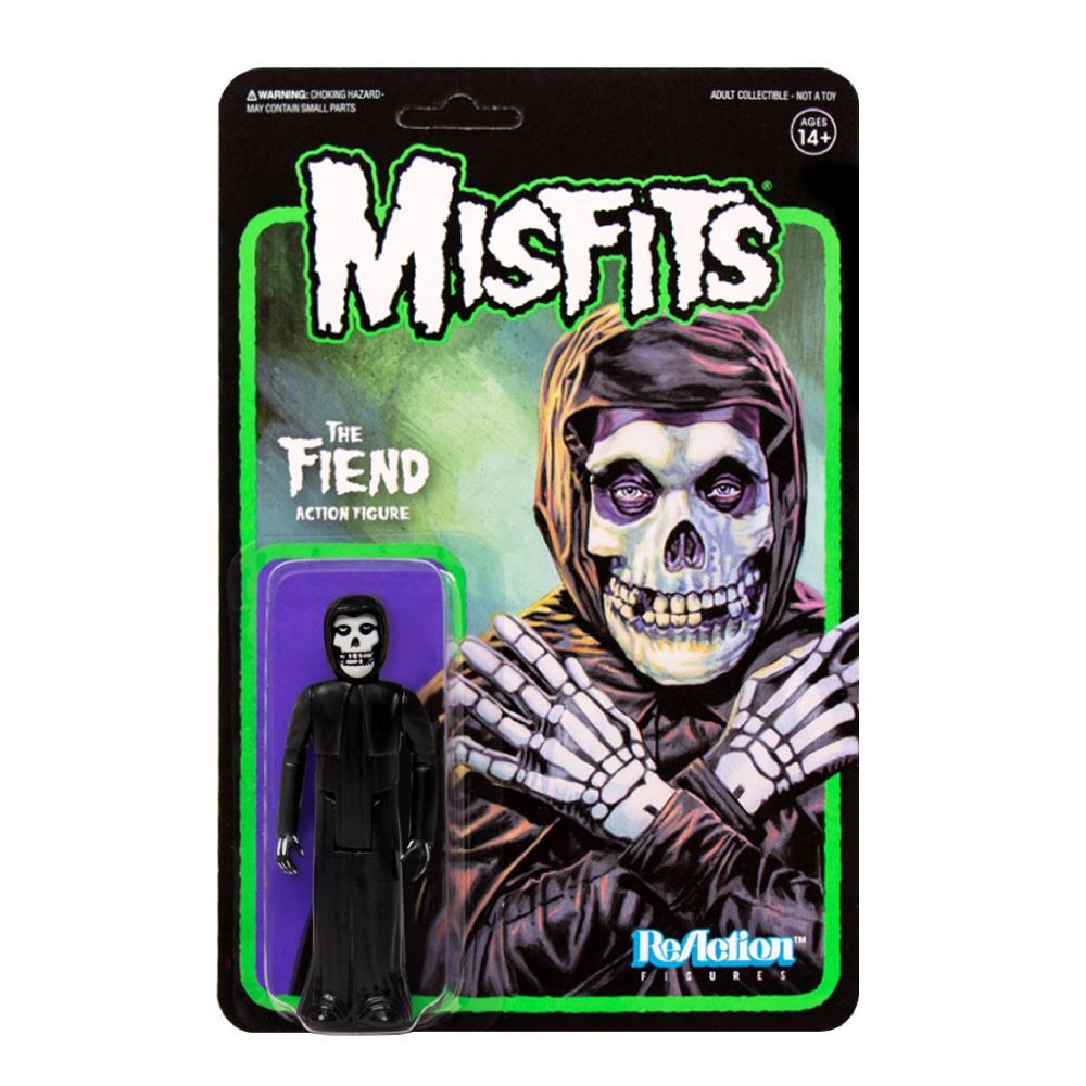 Super7 ReAction Figure - Misfits - The Fiend - Midnight Black