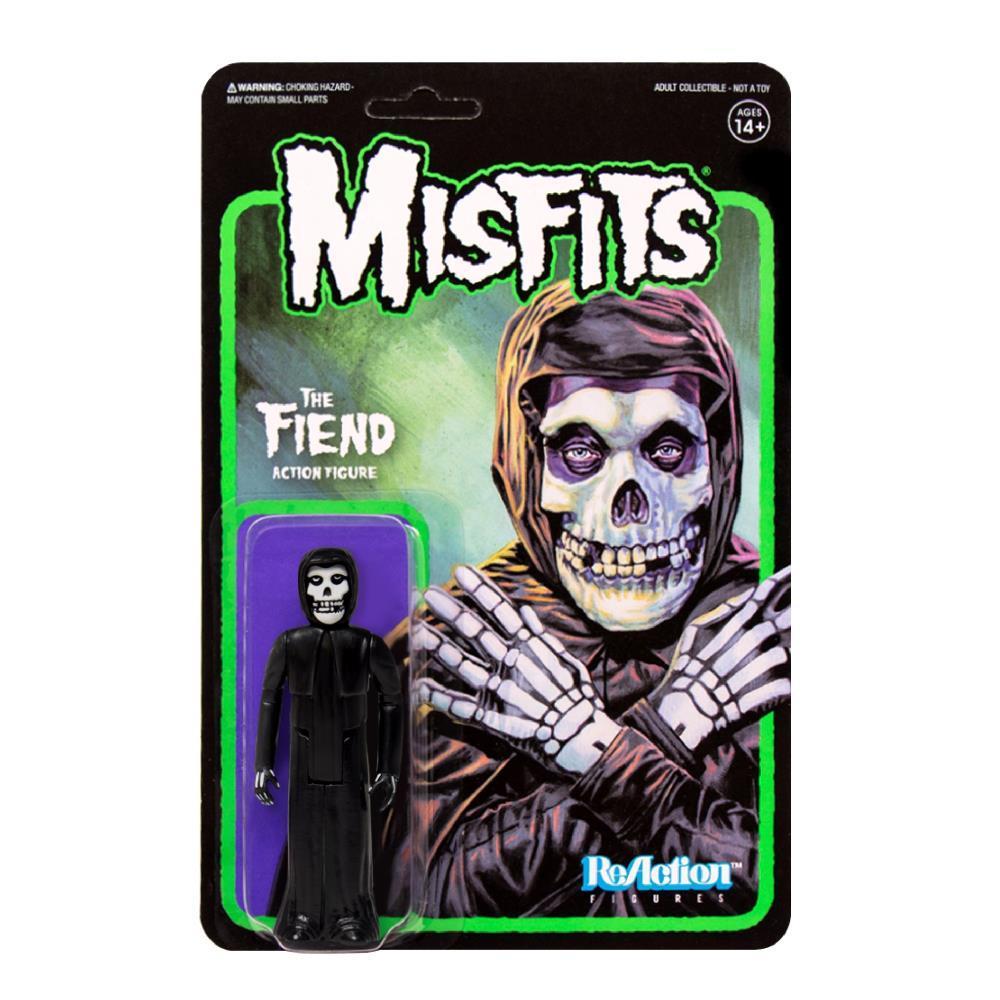 Super7 ReAction Figure - Misfits - The Fiend - Midnight Black