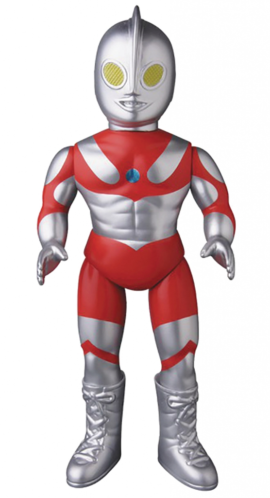 Ultraman Sofubi Metallic Version