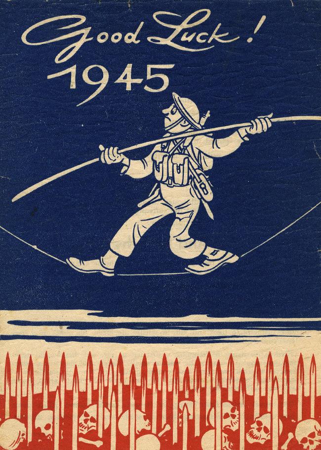 German World War II Propaganda Leaflet