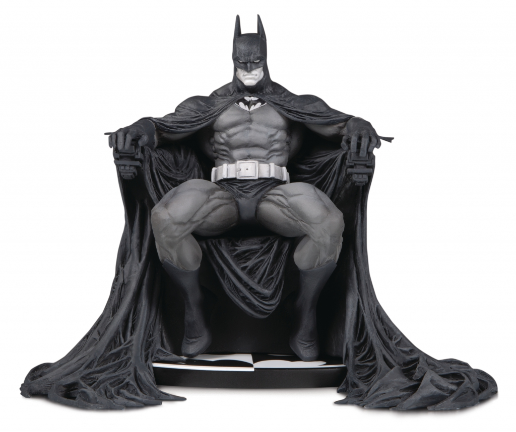 Batman Black & White Statute by Marc Silvestri