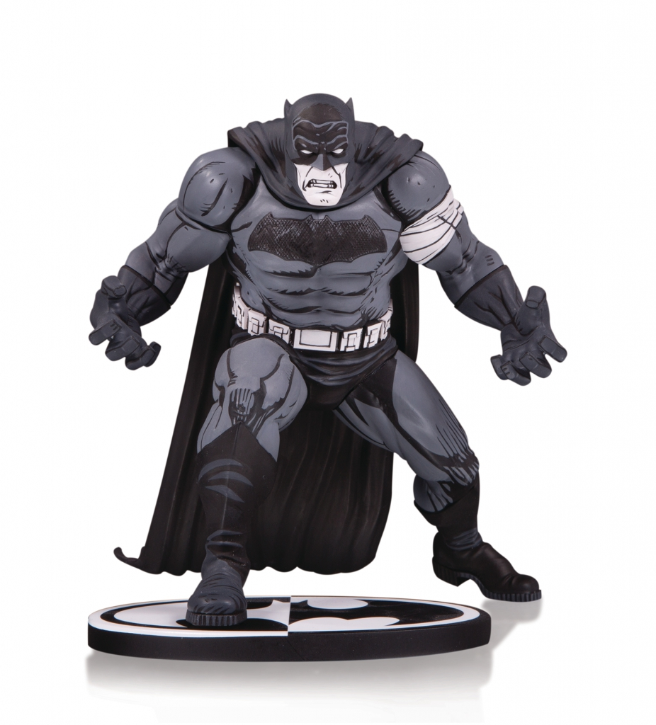 Batman Black and White Statue by Klaus Janson