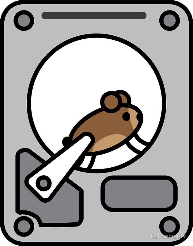Data Hoarder Sticker