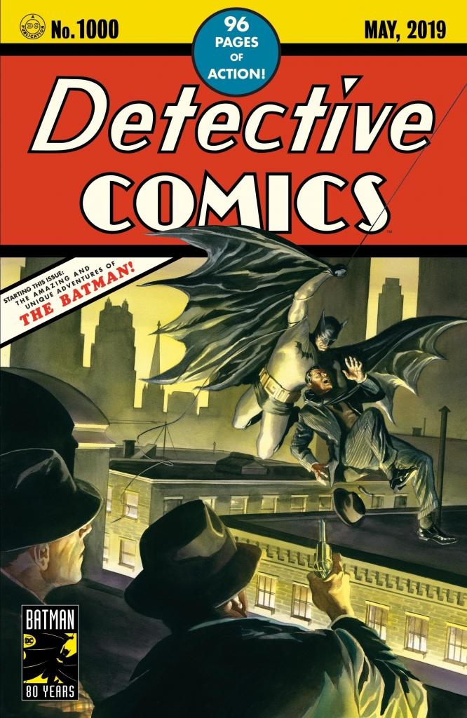 Detective Comics 1000 - Alex Ross Variant Cover