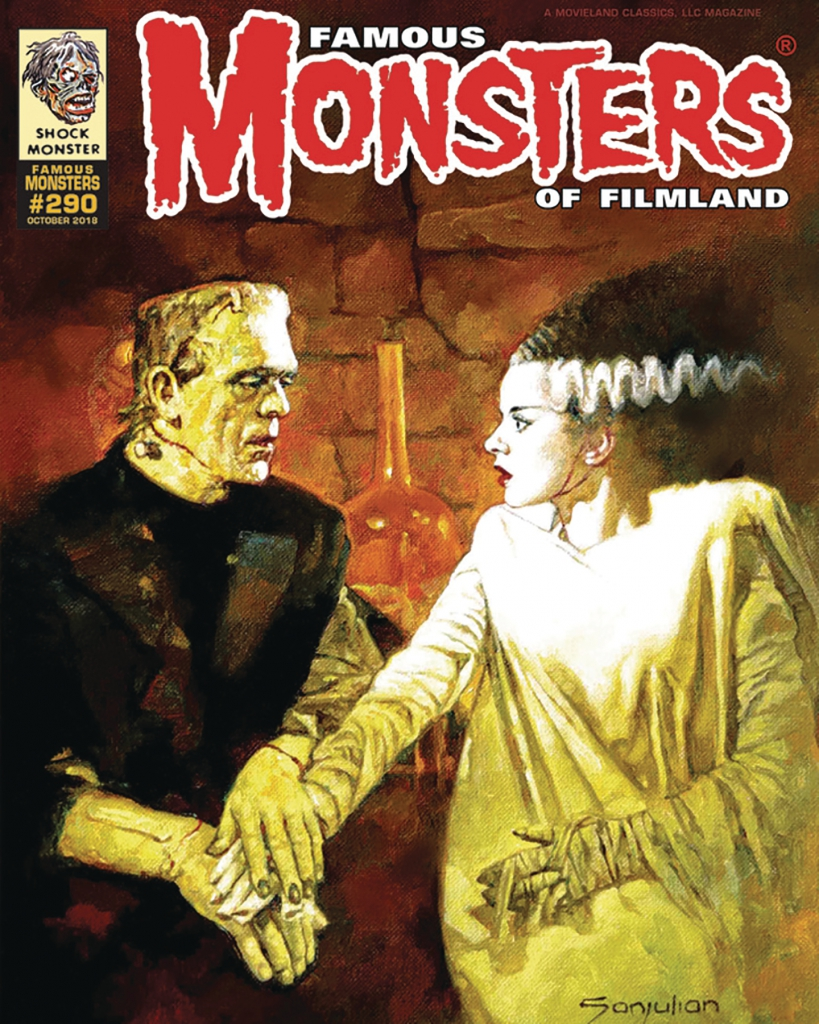 Famous Monsters of Filmland #290 Cover by Sanjulian
