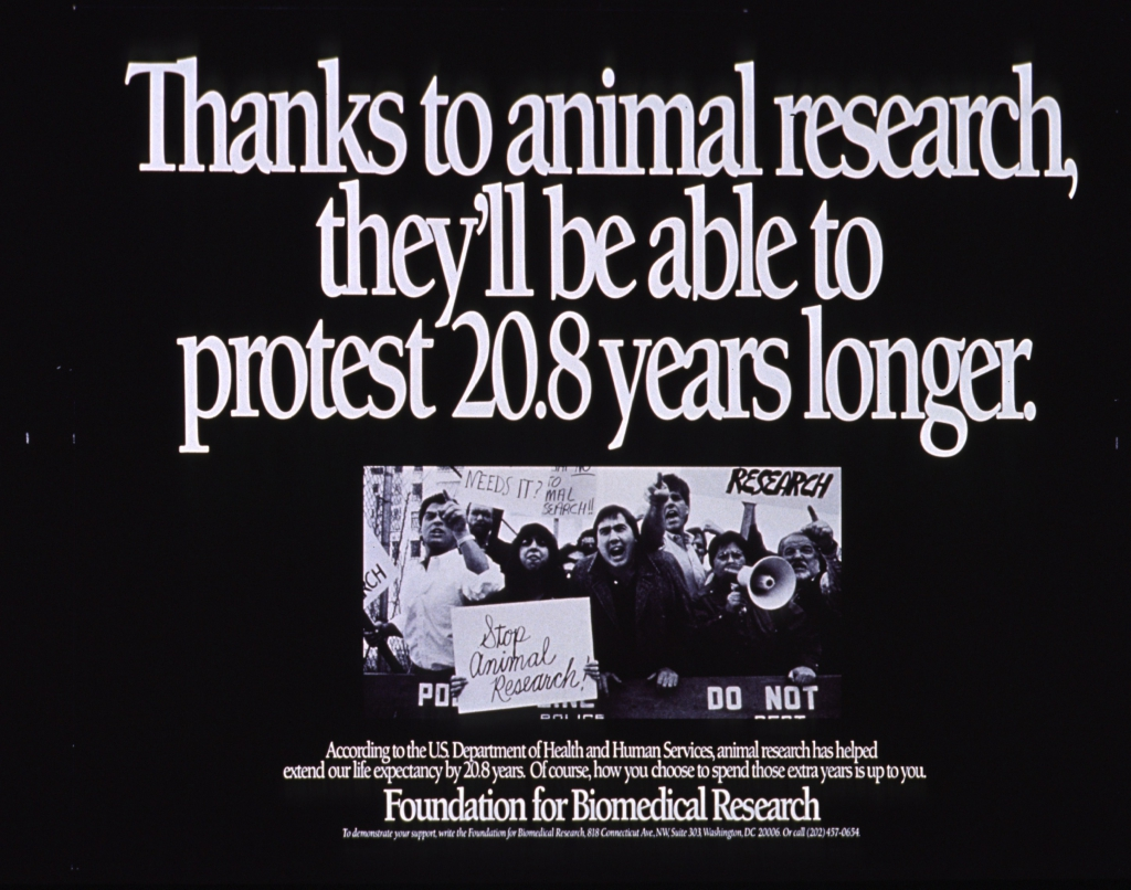 Foundation for Biomedical Research Anti-Animal Rights Ad