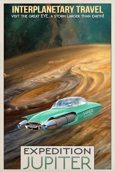 Interplanetary Travel - Expedition Jupiter