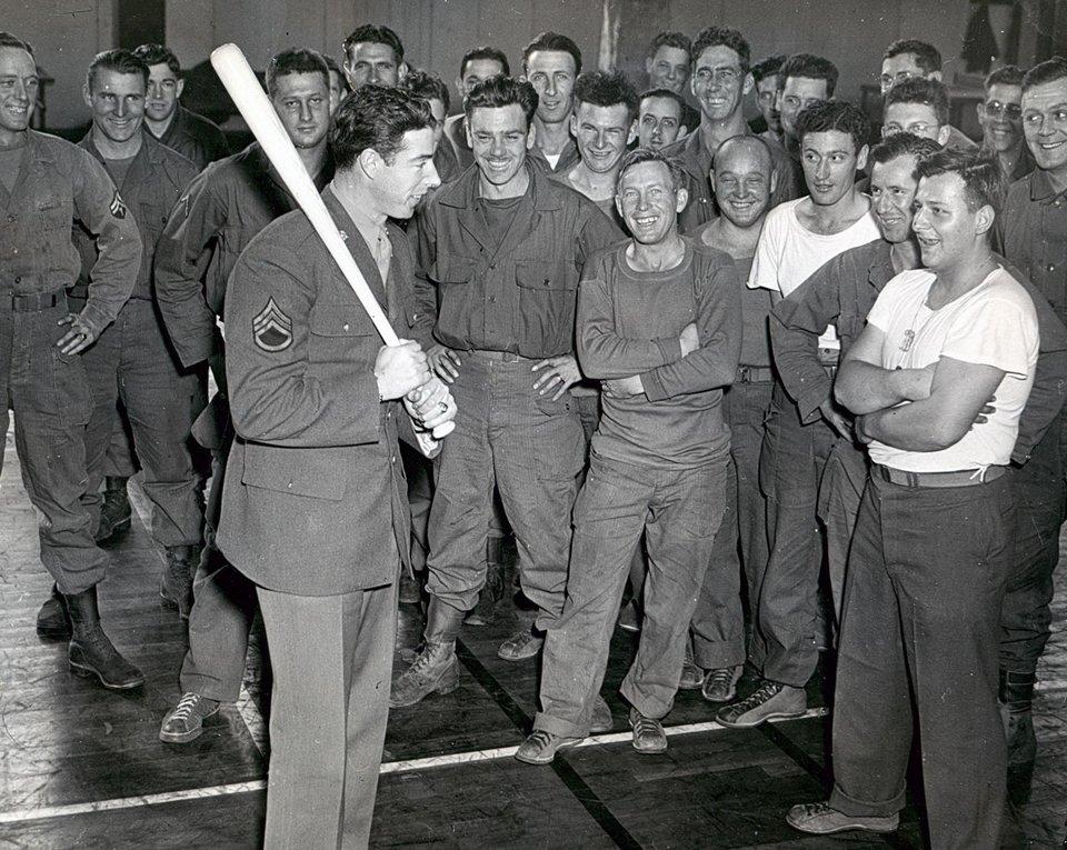 Joe Dimaggio, World War II Photo
