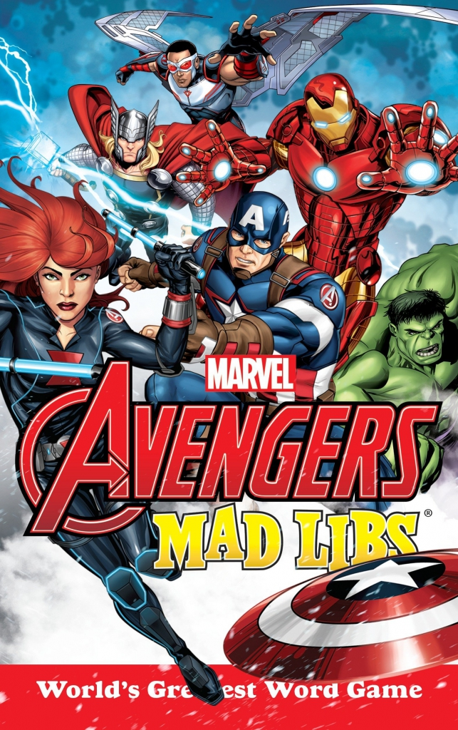 Marvel Avengers Mad Libs