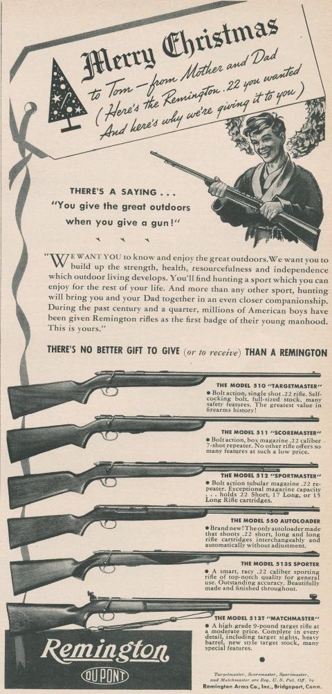 Remington Ad - Merry Christmas