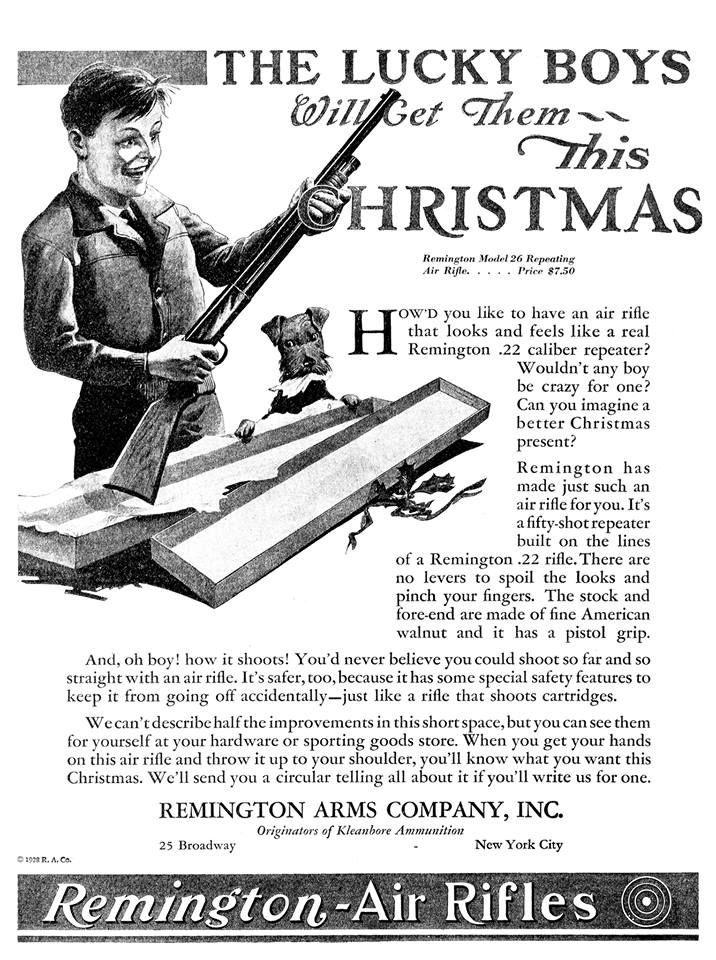 Remington Add - The Lucky Boys Will Get This For Christmas