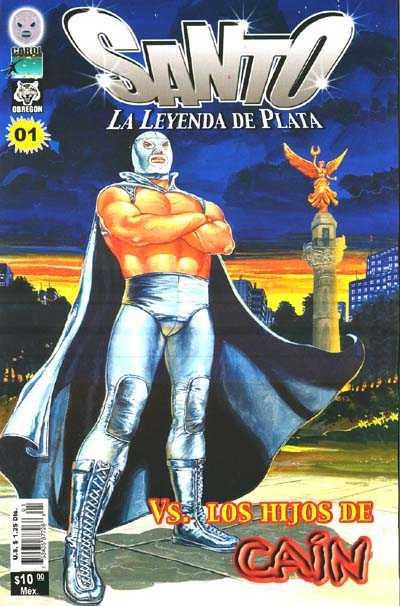 Santo La Leyenda de Plata (2005) - Issue #1