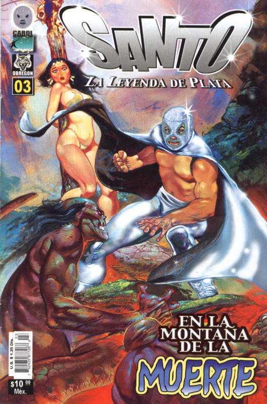 Santo La Leyenda de Plata (2005) - Issue #3