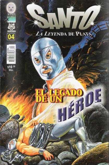 Santo La Leyenda de Plata (2005) - Issue #4