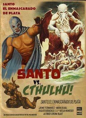 Santo vs. Cthulhu Poster