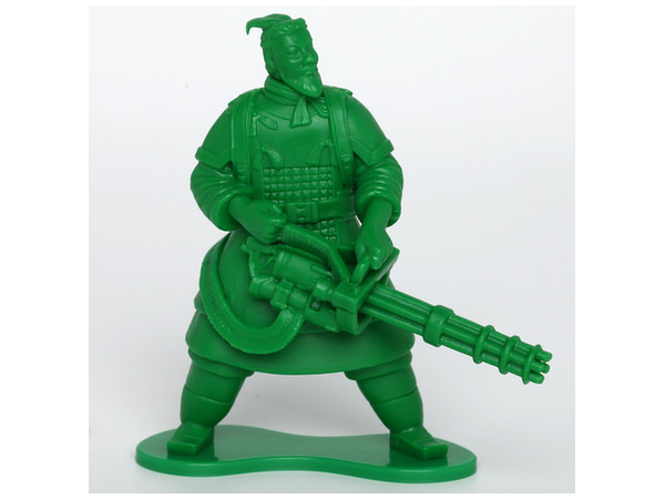 Terracotta Little Green Army Men