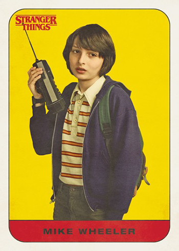 Topps Stranger Things - Mike Wheeler