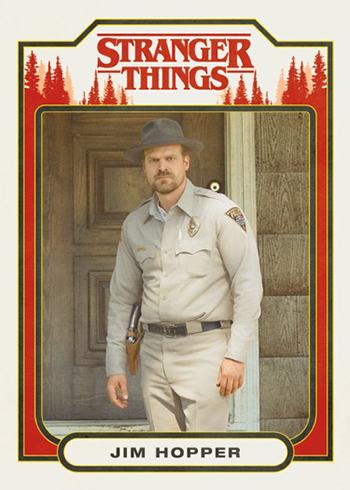 Topps Stranger Things - Jim Hopper