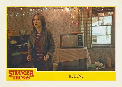 Topps Stranger Things - R.U.N.