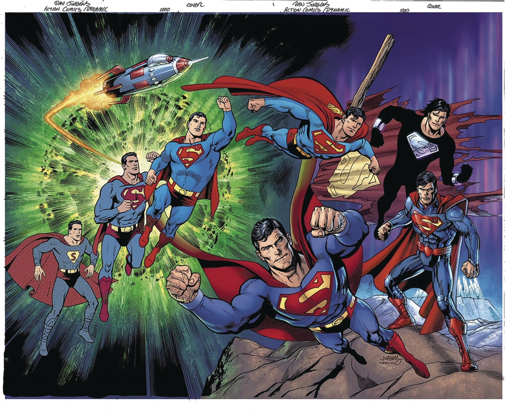 Action Comics 1000  Wraparound Cover Variant by Dan Jurgens