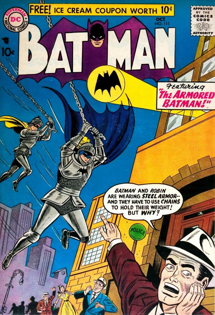Batman #111 , October 1957