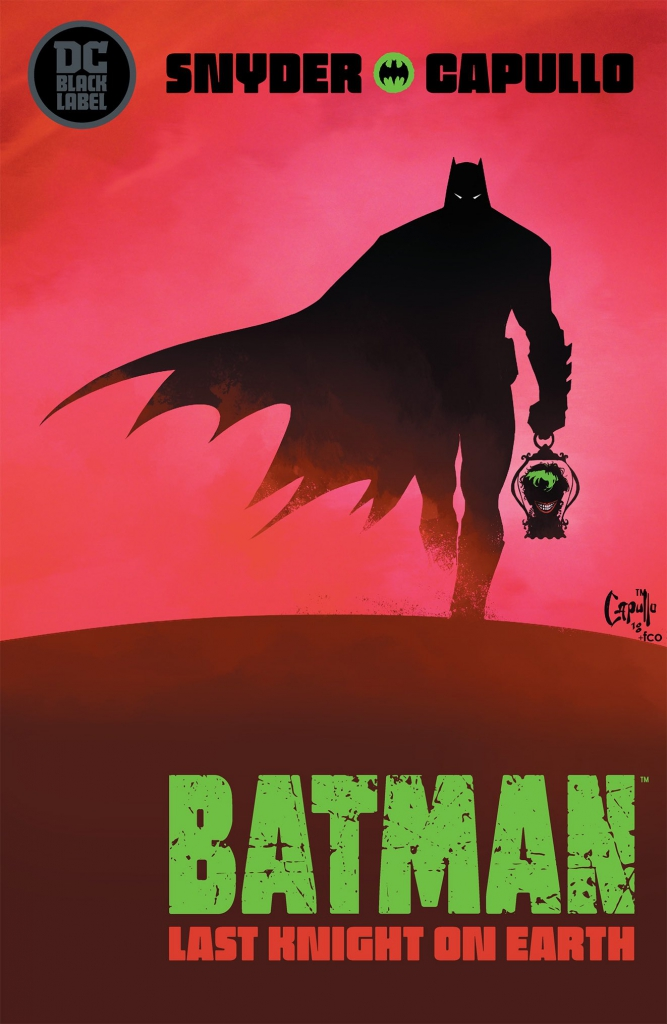 Batman Last Knight on Earth Cover