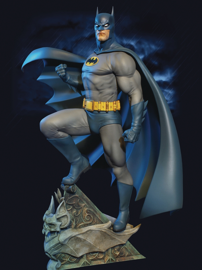 DC Super Powers Batman Maquette