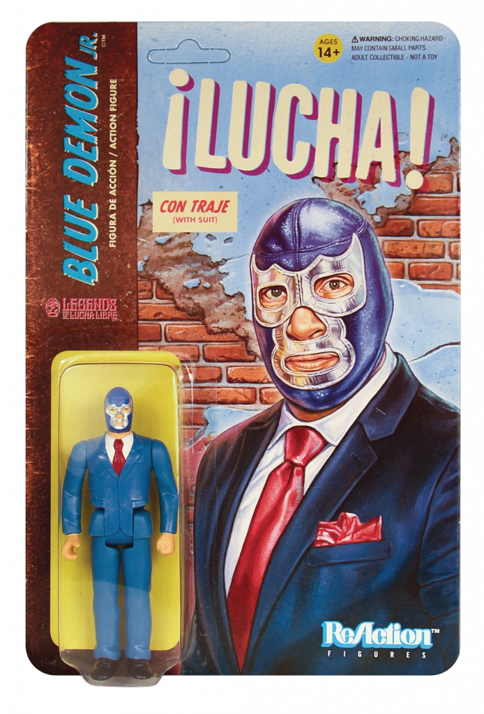 ReAction Legends of Lucha Libre - Blue Demon Jr.