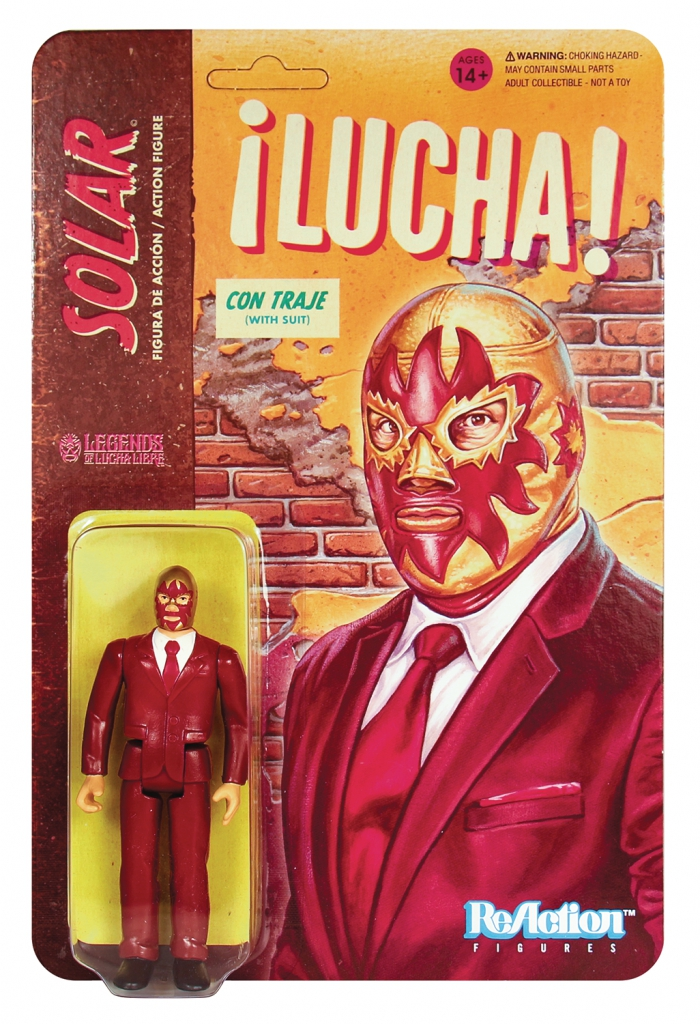 ReAction Legends of Lucha Libre - Solar