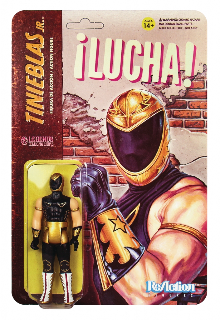 ReAction Legends of Lucha Libre - Tinieblas