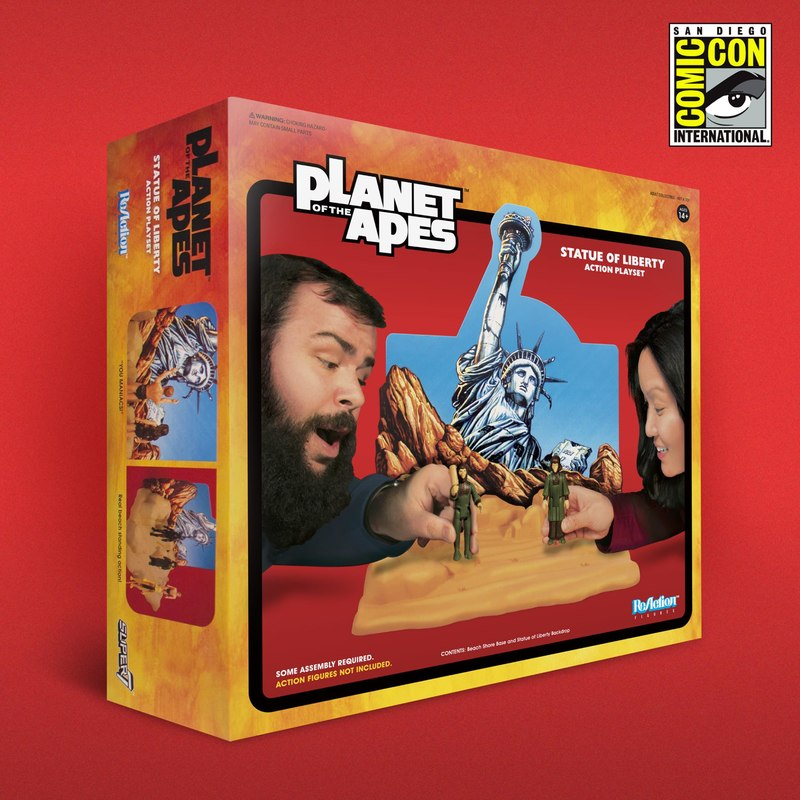 ReAction Planet of the Apes Statue of LIberty Action Playset