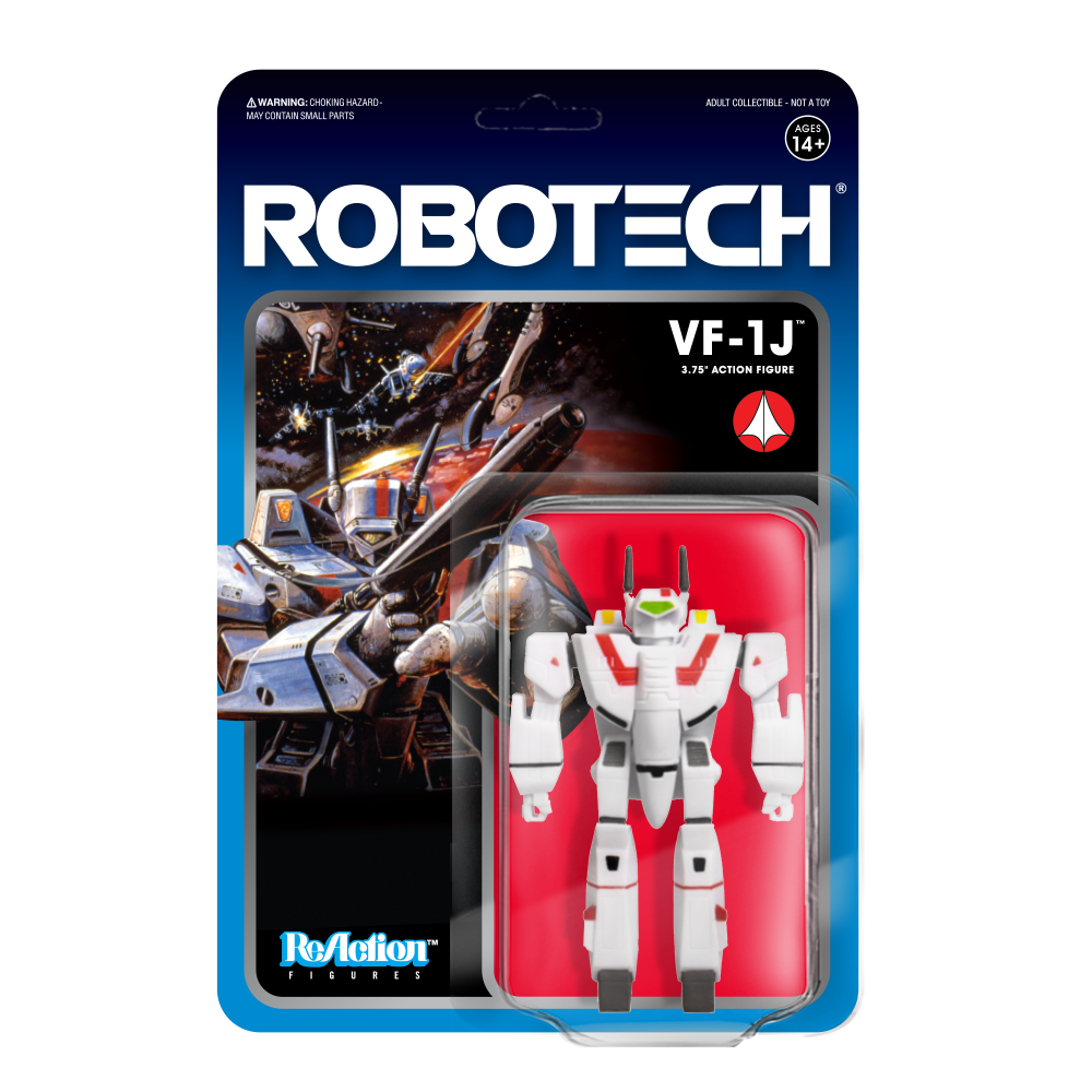 Super7 ReAction - Robotech - VF-1J