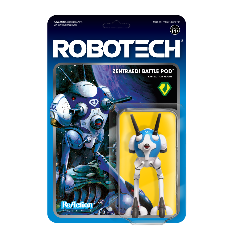 Super7 ReAction - Robotech - Zentraedi Battle Pod