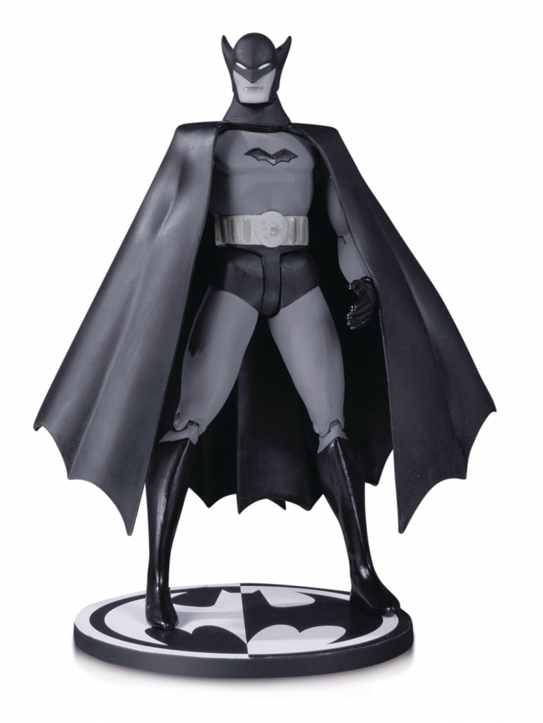 Batman Black & White First Appearance by Bob Kane Action Figure