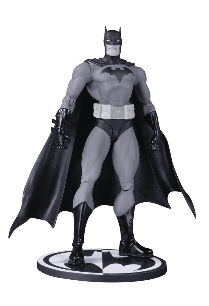 Batman Black & White Jim Lee Hush Action Figure