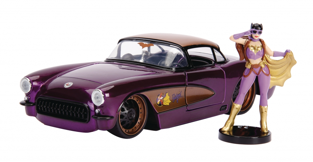 DC Bombshells 1/24-Scale Diecast Vehicles - Batgirl