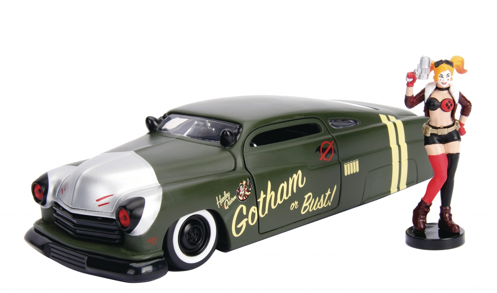 DC Bombshells 1/24-Scale Diecast Vehicles - Harley Quinn