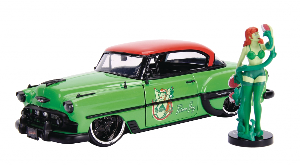 DC Bombshells 1/24-Scale Diecast Vehicles - Poison Ivy