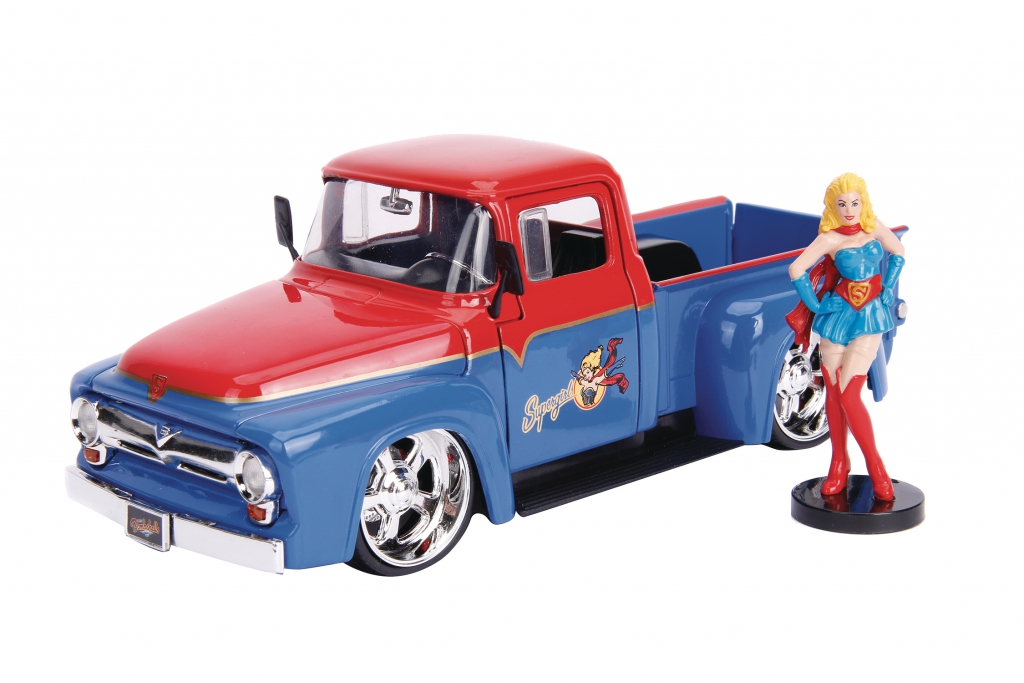 DC Bombshells 1/24-Scale Diecast Vehicles - Supergirl