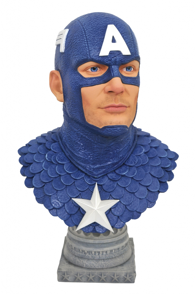 Diamond Select Legends Captain America 1/2 Scale Bust