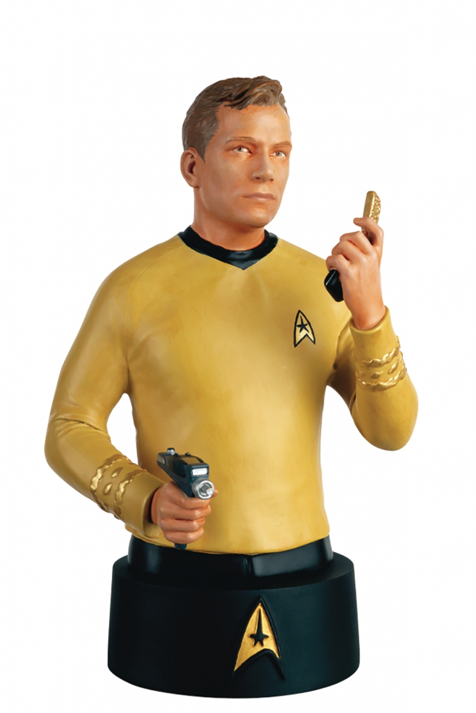 Eaglemoss - Star Trek Busts - James T. Kirk