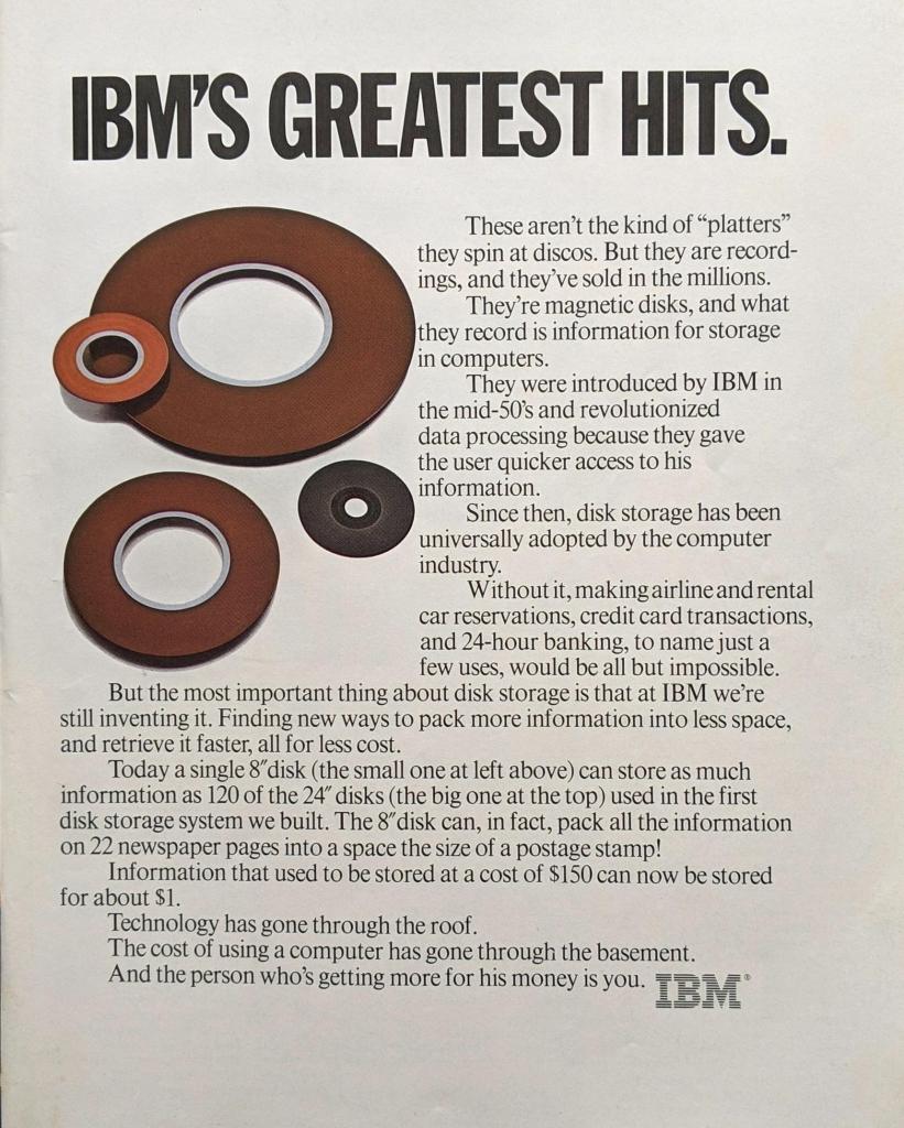 IBM's Greatest Hits Ad