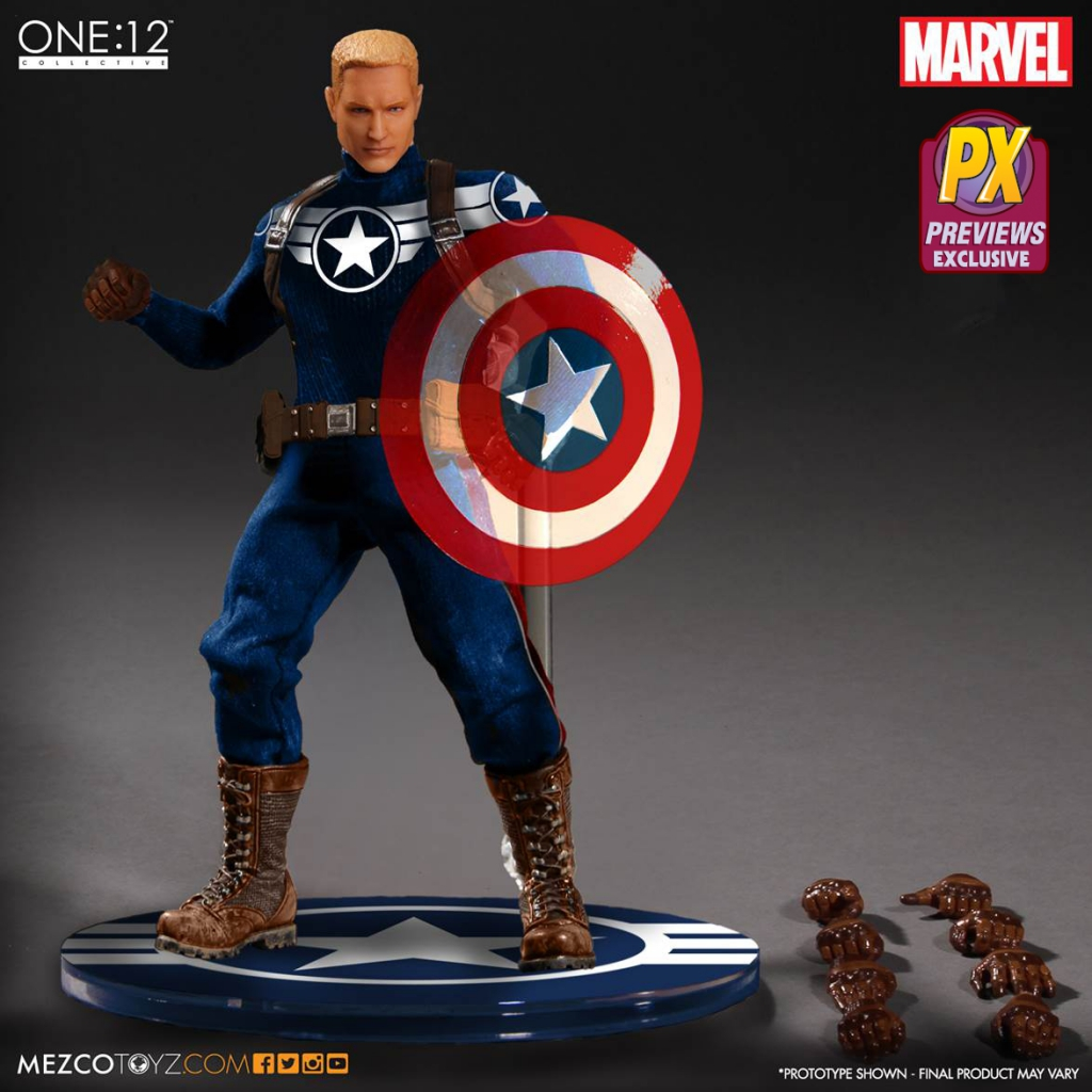 One-12 Collective Commander Steve Rogers Action Figure
