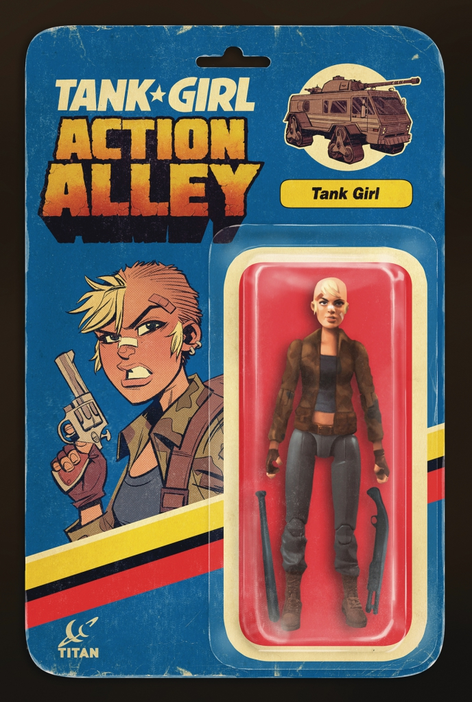 Tank Girl Action Alley #1 - Tank Girl Action Figure Variant Cover