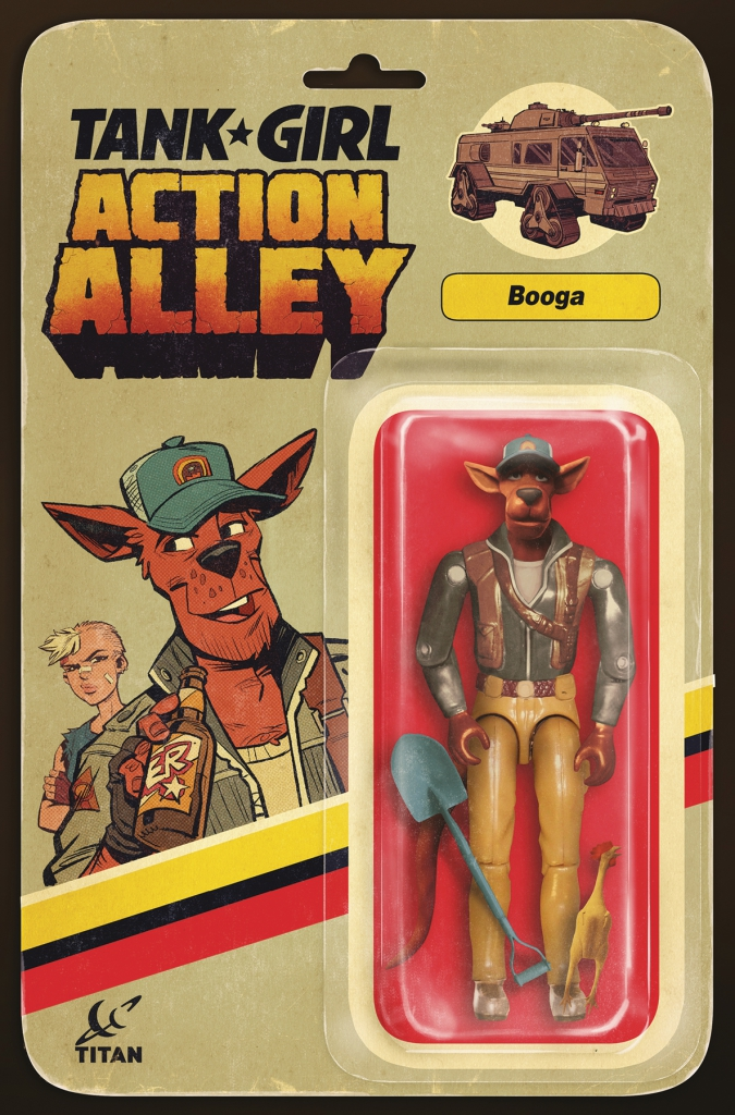 Tank Girl Action Alley #2 - Booga Action Figure Variant Cover