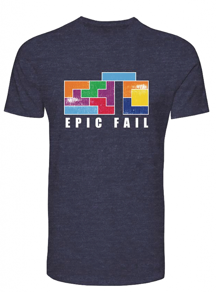 Tetris Epic Fail T-Shirt