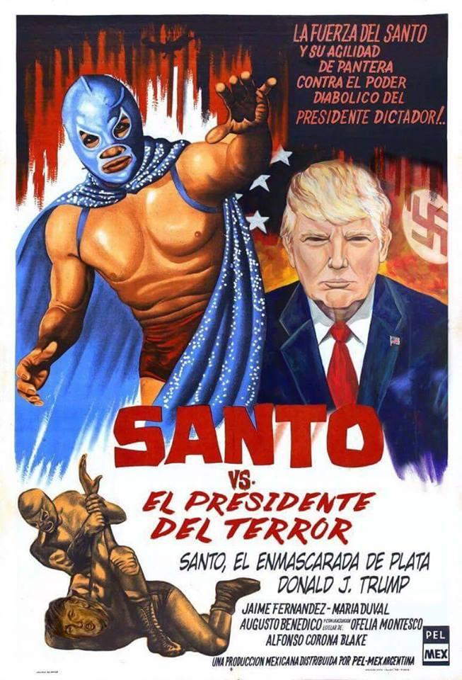 Santo vs. El Presidente Del Terror
