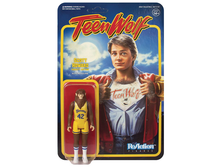 Teen Wolf ReAction Figures - Basketball Uniform